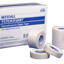 "TENDERSKIN Hypoallergenic Tape Paper 1"" x 10 yards"