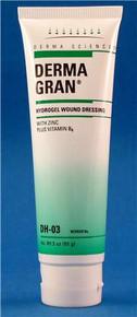 Dermagran® Amorphous Zinc-Saline Hydrogel Dressing 3 ounce tube