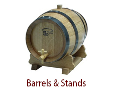 Vinegar Barrels & Stands