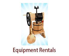 Wine Equipment Rentals