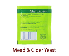 Mead & Cider Yeast