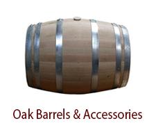 Oak Barrels & Accessories