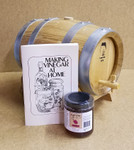French Oak Barrel Vinegar Kit  w/stand - 5 Liter