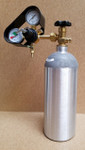 New Aluminum CO2 tank with regulator and guard