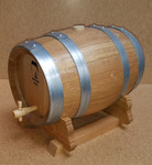 French Oak Barrel w/Stand - 5 Liter