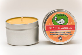 Orange Vanilla Travel Tin
