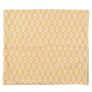 Gold Pastel Table Runner | Peacocks and Paisleys