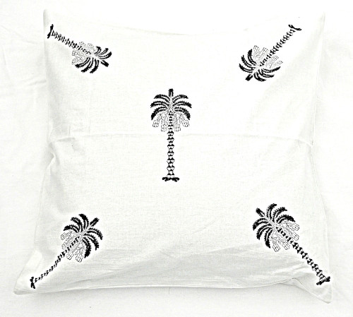 Island Palm Cushion Cover | Peacocks and Paisleys