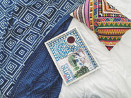 Indigo French Hampton Kantha Quilt