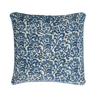 Batik Cushion Cover | Peacocks and Paisleys
