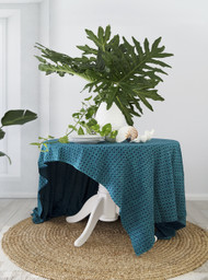 Seagrass Mermaid Tail Tablecloth | Peacocks and Paisleys