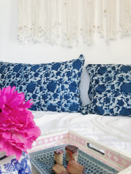 Indigo Rose  Pillowcase -sold out