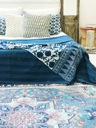Modern Bohemian  Upcycled Rug-  Preorders open