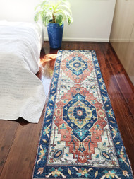 Spell Gypsy  Upcycled Rug Runner
