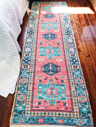 Persia  Upcycled Rug Runner - preorders open