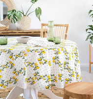 Capri Limoncello  Square Tablecloth (180x180cm)