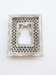 Boho Scandi Carved Frame
