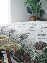 Orchards  Kantha Quilt