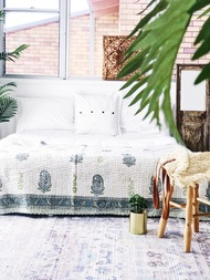 Paisleys  Kantha Quilt -sold out