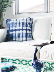 Beach Shibori Cushion Cover