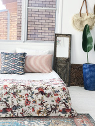 Birds of Paradise Kantha Quilt- sold out