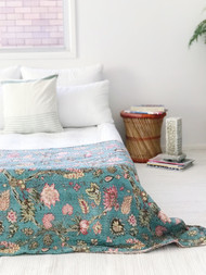 Le Jardin Kantha Quilt -preorders open