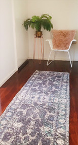 Celeste  Upcycled  Rug Runner - sold out