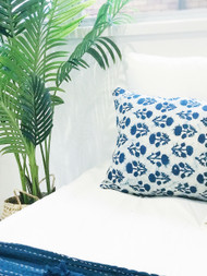 Les Indiennes Euro  Cushion Cover