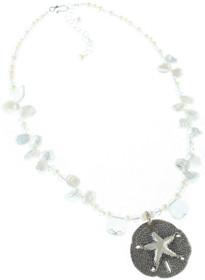Ship Shoal Necklace- White