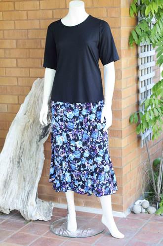 Blue Jasmine Skirt