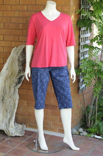 Tapis Short Capri Pants