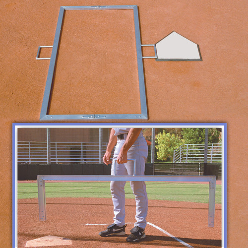 Foldable Batter\'s Box Template