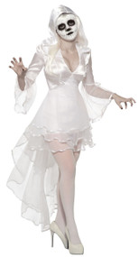 Ladies Banshee Fancy Dress Costume