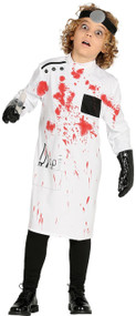 Child's Killer Doctor Fancy Dress Costume