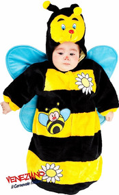 Baby Bee Sleeping Sack Fancy Dress Costume