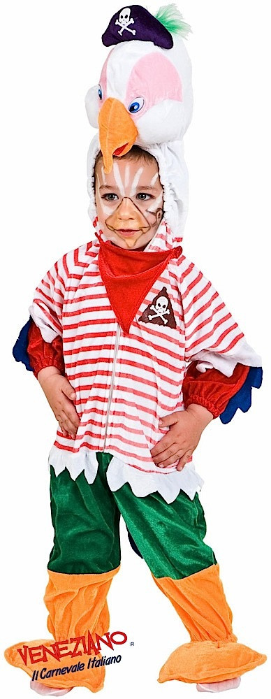 Toddler Pirate Parrot Fancy Dress Costume. Image 1  sc 1 st  Fancy Me Limited & Toddler Pirate Parrot Fancy Dress Costume - Fancy Me Limited