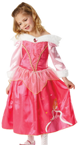 Girls Winter Aurora Fancy Dress Costume