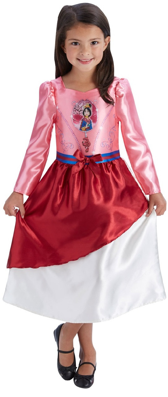 Girls Classic Mulan Fancy Dress Costume. Image 1  sc 1 st  Fancy Me Limited : costume of mulan  - Germanpascual.Com