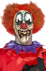 Adults Killer Clown Fancy Dress Prosthetic