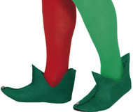 Adults Green Elf Fancy Dress Boots