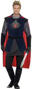 Men's Deluxe King Arthur Fancy Dress Costume