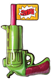 Inflatable Cartoon Gun Fancy Dress Prop