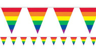 Rainbow Stripe Party Bunting
