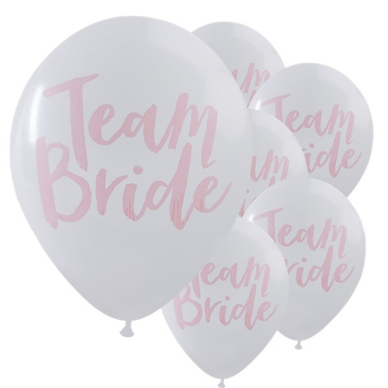 Team Bride Party Balloons Image 1