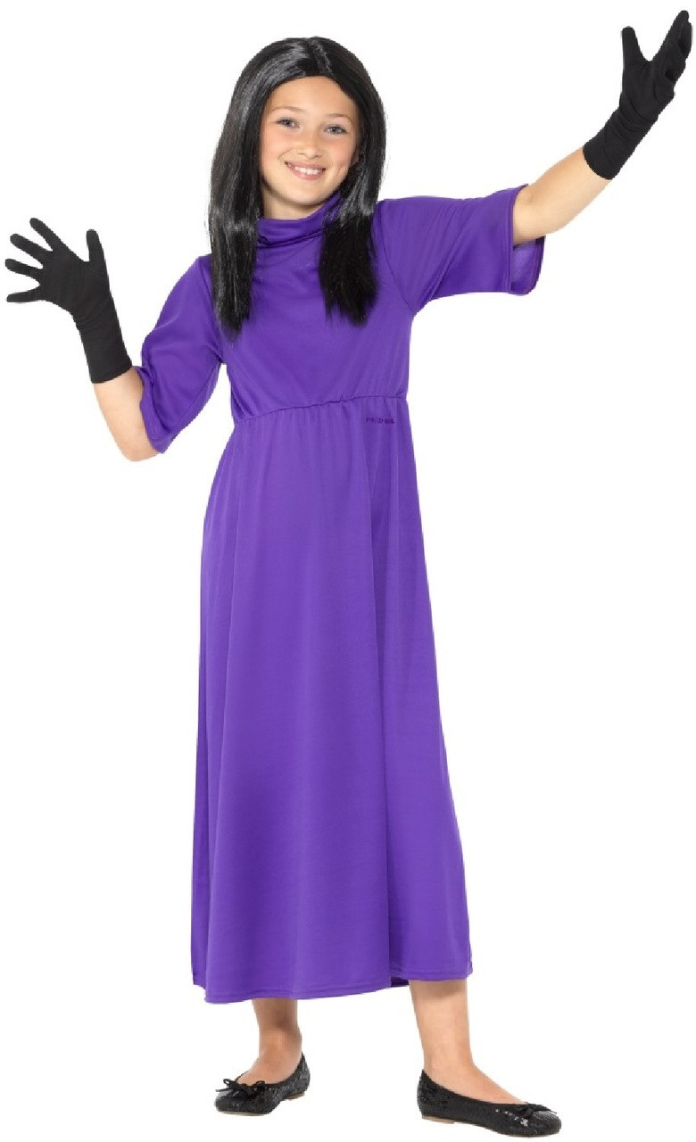 Girls Head Witch Fancy Dress Costume - Fancy Me Limited