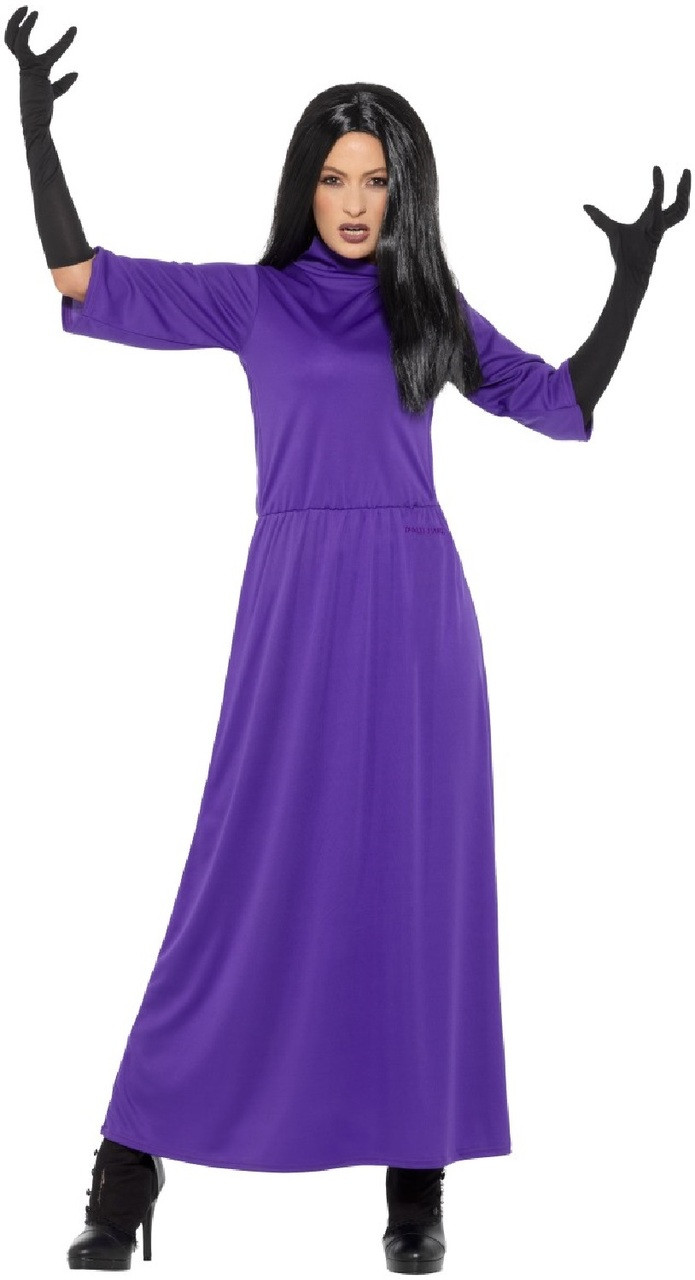 Ladies Head Witch Fancy Dress Costume - Fancy Me Limited
