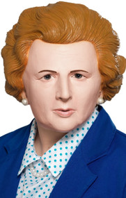 Adult's Iron Lady Thatcher Fancy Dress Mask