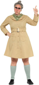 Ladies Miss Trunchbull Fancy Dress Costume