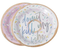 Donut Kill My Vibe Party Plates