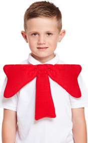 Child's Giant Red Bow Tie